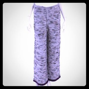 CHANEL Identification Mohair/Tweed/Wool Knit Pant